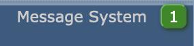 Message system DirectAdmin