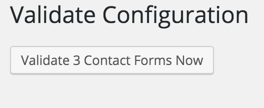 Valideer contact formulier