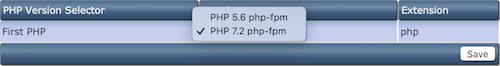 Omzetten naar laatste PHP versie