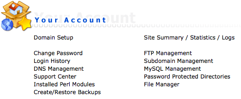 Domain setup DirectAdmin