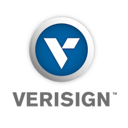 verisign logo - .net domeinnaam registreren