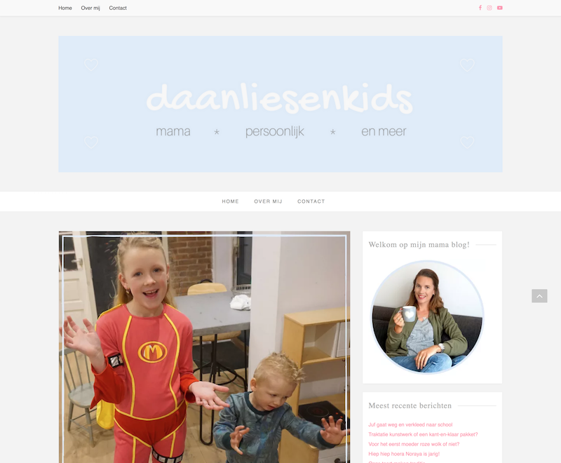 Daan, Lies en kids