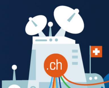 .ch domein registreren