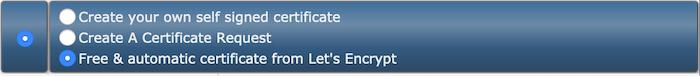 nieuw ssl certificaat genereren