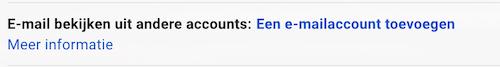 Mailadres toevoegen aan Gmail
