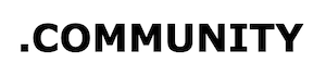 community domein bestellen